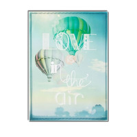 Love Is In The Air, Large Printed Canvas, 70 x 50 cm