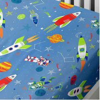 Supersonic, Space Single Fitted Sheet