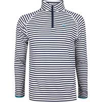 G/FORE Golf Pullover - Striped Mid - White - Twilight SS19