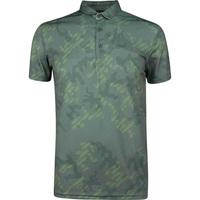 Galvin Green EDGE Golf Shirt - General Camo - Green 2019