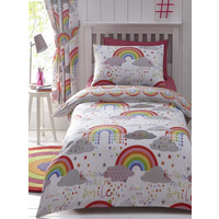 Clouds and Rainbows, Girls Single Bed Sets