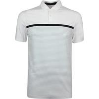 Nike Golf Shirt - TW Vapor Stripe - White SS19