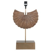 Pacific Lifestyle &pipe; Hand Crafted Wooden Shell Table Lamp Base Only