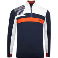 BOSS Golf Jumper - Zelchior Pro - Nightwatch - Tangerine FA19