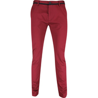BOSS Golf Trousers - Rogan 3-2 Chino - Cabernet FA19