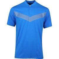 Nike Golf Shirt - TW Vapor Reflective Blade - Photo Blue AW19