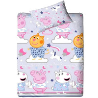 Peppa Pig Bedding. Single Duvet - Sleep