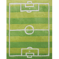 Football Pitch Rug 80 x 120 cm