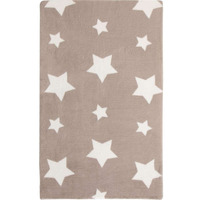 Caramel Cream Twinkle Star, Super Soft Rug 90 x 150 cm