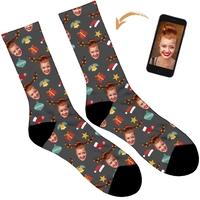 Reindeer Personalised Christmas Socks