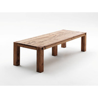 Egor 300cm Solid Oak Wood Dining Table Extra Wide
