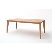 Pepe 200cm Extra Wide Oak Dining Table