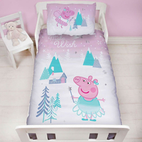 Peppa Pig Toddler Bedding - Sugar Plum Fairy