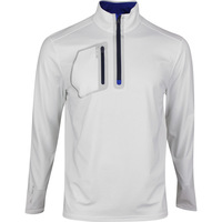 RLX Golf Pullover - Brushback Tech Jersey - Pure White SS20