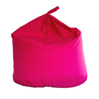 Large Water Resistant Outdoor Bean Bag - Pink