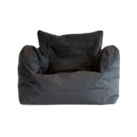 Large Outdoor Bean Chair - Black