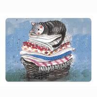 Alex Clark Laundry Basket Placemat