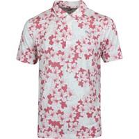 PUMA Golf Shirt - Thirteen Polo - Rapture Rose Print LE SS20