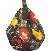 Angry Birds TNT Bean Bag - Black