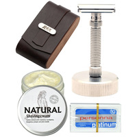 Rex Ambassador Complete Shaving Set - Razor, Stand & Case