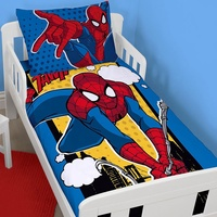 Spiderman Toddler Bedding - Webhead