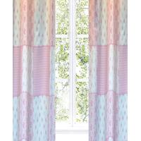 Princess Patchwork Tab Top Blackout Curtains 54s