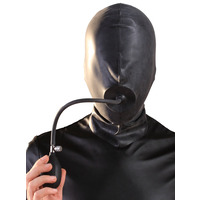 Moulded Rubber Hood with Pump Up Gag
