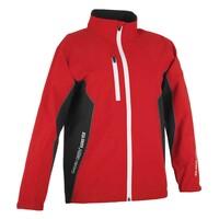 Galvin Green Junior Richie Paclite Waterproof Golf Jacket Red