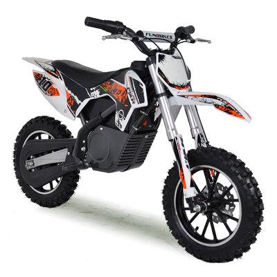 FunBikes MXR 61cm Orange Electric Kids Mini Dirt Bike