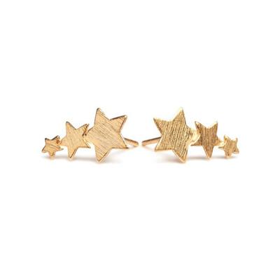 SHOOTING STAR EARRINGS - GOLD