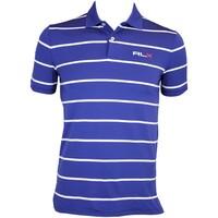 RLX YD Stripe Airflow Golf Shirt Driver Navy AW15