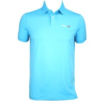 RLX Solid Airflow Golf Shirt Cove Blue AW15