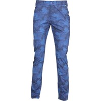Hugo Boss Leeman Print-W Camo Golf Trousers Blue FA15