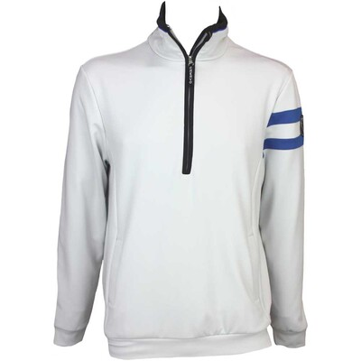 Cherv242 Parussola Wind Lock Golf Jumper Light Grey AW15