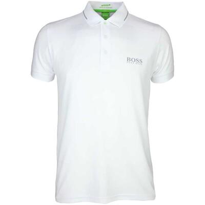 Hugo Boss Paule Pro Golf Shirt Training White PS16