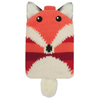 aroma-home-knitted-fox-phone-holder