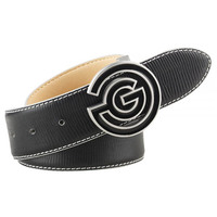 Galvin Green Golf Belt - WESLEY Leather - Black AW17