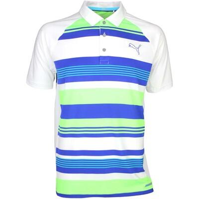 Puma Golf Shirt - GT Road Map Bright White SS16
