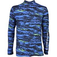 Chervò Golf Base Layer Shirt - TUTTOK Blue Camo SS16