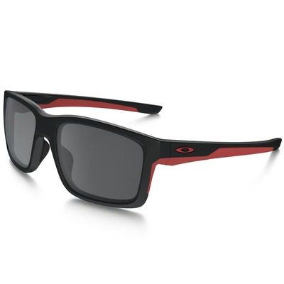Oakley Golf Sunglasses Mainlink Matte Black Red