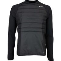 Nike Golf Pullover - Aeroloft Hyperadapt Crew - Black AW16