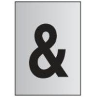 Metal Effect PVC Symbol &