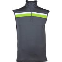 Galvin Green Golf Pullover - DYSON Insula - Iron Grey SS17