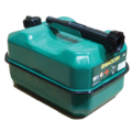 Click to view product details and reviews for Green 10 Litre Steel Fuel Can.