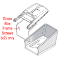 Click to view product details and reviews for Mountfield Grassbox Pair of Flanged Screws 112728680 0.