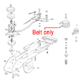 Click to view product details and reviews for Al Ko Scythe Mower Belt 401416.