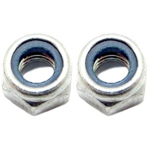 Al Ko M8 Lock Nuts Pair 704537