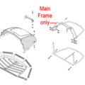 Click to view product details and reviews for Al Ko Tractor Grassbox Main Frame 52191201.
