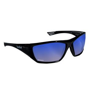 Bolle Hustler Blue Flash Polarized Safety Glasses