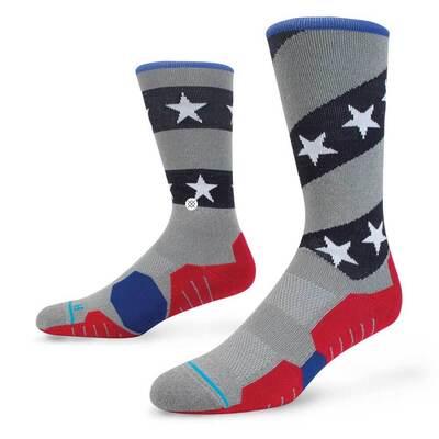 Stance Golf Socks Merica Crew Stars and Stripes 2017